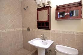 Kohler Cimarron Pedestal Sink by Traditional 3 4 Bathroom With Glass Panel U0026 Flush Zillow Digs