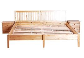 Simple Wood Bed Frame Twin Plans Basic Metal Queen