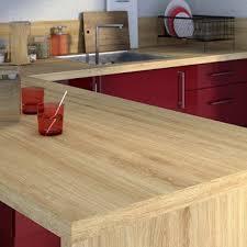 plan travaille cuisine plan de travail stratifié bois inox au meilleur prix leroy