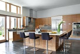cuisine bois design bar cuisine design cuisine en l grand ilot meuble bois table bar