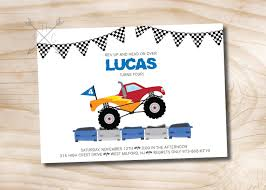 Monster Truck Invitation - Monster Truck Birthday Invitation - Truck ... Mr Vs 3rd Monster Truck Birthday Party Part Ii The Fun And Cake Monster Truck Food Labels Mrruck_party_invitions_mplatesjpg Unique Free Printable Grave Digger Invitations Gallery Marvelous Ideas At In A Box Cool Blue Card Truck Birthday Blaze The Machine Invitation On Design Of Jam Ticket Style Personalized 599 Sophisticated Photo Christmas Card