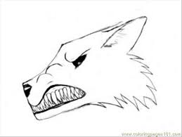 Xcode Coloring Book Tutorial Narling Wolf Drawing Page Free
