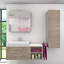 badmöbel set city 205 v3 eiche braun badezimmermöbel waschtisch 120 cm 16958 ohne spiegelschrankbeleuchtung