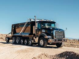 100 Mack Dump Trucks 2002 Granite 6x4 Truck Semi Tractor Construction Dumptruck