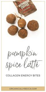 Pumpkin Spice Frappe Nutrition by Recipe Pumpkin Spice Latté Fat Balls U2022 Organically Becca