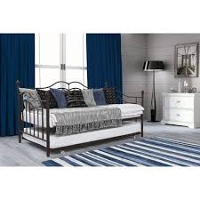 Walmart Trundle Bed Frame by Tokyo Twin Daybed And Trundle Brushed Bronze Walmart Com