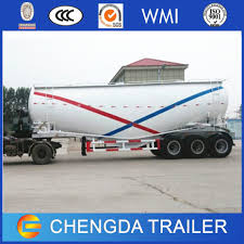 100 Semi Truck Prices China 3axle 40cbm Bulk Cement Feed Tanker Bulker Tanker