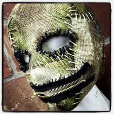 Scary Halloween Half Masks by Image Gallery Sinister Mask