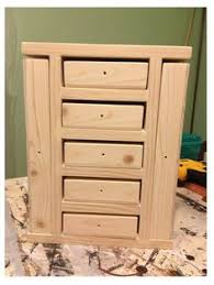 Free Solid Wood Dresser Plans by Ana White Build A Fancy Jewelry Box Free And Easy Diy Project