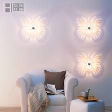 Brief Stair Acrylic Wall Lamp Laser Sculpture