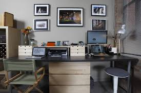 Office : Cool Minimalist Home Office With L Shaped Work Desk Ideas ... Office Ideas Minimalist Home Ipirations Modern Beautiful Minimalist Office Interior Design 20 Minimal Design Inspirationfeed Designs Work Area Two Apartments In A Family With Bright Bedroom For The Kids Best Ideal Hk1lh 16937 Scdinavian White Color Wooden Desk Peenmediacom Floating Imac And