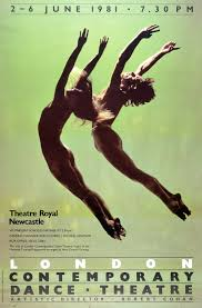 Poster For London Contemporary Dance Theatre Photograph By Anthony Crickmay England 1981
