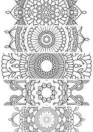 5 BookmarksPrintable Bookmarks Instant Download PDF Mandala Doodling Page Adult