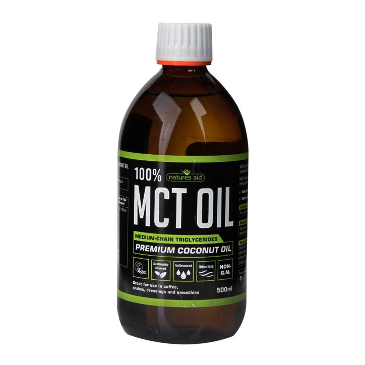 Natures Aid 100 Percent MCT Oil, 500 ml