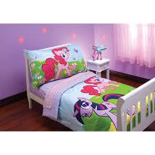 Dora Toddler Bed Set by My Little Pony Friends Toddler Bedding 4 Piece Set My Little