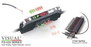 Keyence Light Curtain Manual Pdf by Digital Fiber Optic Sensors Fs V20 Series Keyence America