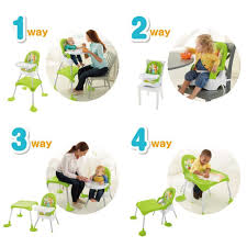 Details About Fisher Price 4-in-1 Baby Booster Seat Table Feeding High Chair