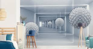 muralo fototapete 3d effekt 254 b x 184 h cm vlies wand tapete kugeln abstraktion 3d optik wohnzimmer schlafzimmer moderne wandbild