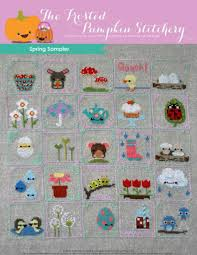 The Frosted Pumpkin Stitchery Facebook by 25 Fresh Cross Stitch Patterns For Spring