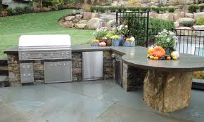 Small L Shaped Outdoor Kitchen