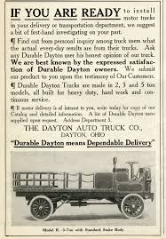 100 Truck Paper Florida Memory Advertisement For The Dayton Auto Companys 3