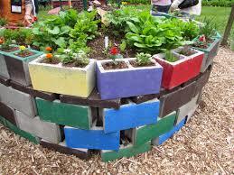 Build Raised Garden Bed Cinder Blocks