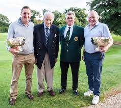 100 Simon Gill Russ Cogger And Secure Jubilee Bowls At Worcester Golf