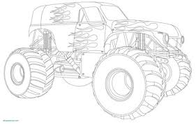 Monster Trucks Coloring Pages For Boys Download Monster Truck ...