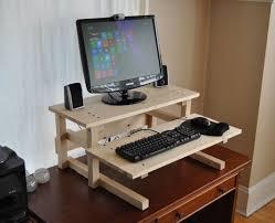 Diy Wood Computer Desk by Best 25 Desk Riser Ideas On Pinterest Computer Desk For Gaming