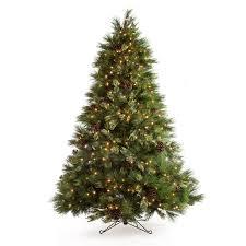 Vickerman Twig Christmas Trees by 7 5 Ft White Pine Pre Lit Christmas Tree Hayneedle
