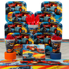 Blaze And The Monster Machines Birthday Deluxe Tableware Kit Serves ... Monster Jam Birthday Party Supplies Impresionante 40 New 3d Beverage Napkins 20 Count Mr Vs 3rd Truck Part Ii The Fun And Cake Blaze Invitations Inspirational Homemade Luxury Birthdayexpress Dinner Plate 24 Encantador Kenny S Decorations Fully Assembled Mini Stickers Theme Ideas Trucks Car Balloons Bouquet 5pcs Kids 9 Oz Paper Cups 8 Top Popular 72076