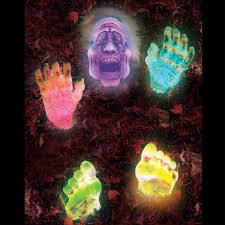 Halloween Coffin Props Effects by Halloween Props Zombie Groundbreaker Led Light Spooky Yard Decor