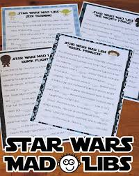 Halloween Mad Libs Pdf by Star Wars Mad Libs Games For Your Road Trip