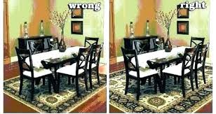 Area Rug Under Dining Table Kitchen Or Not