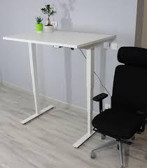 bureau assis debout electrique bureau ergonomique réglable en hauteur électriquement