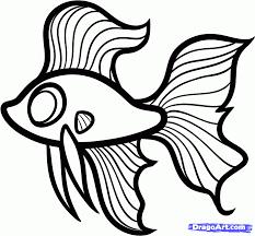 Fish Drawings For Kids