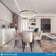 100 Modern Interior Design Magazine Of Small Apartment Stock Illustration