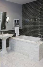 small marble bathroom broadway project modern craft construction