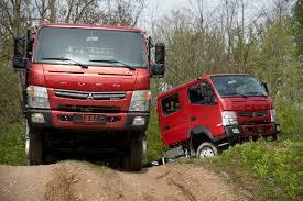 100 Mitsubishi Commercial Trucks Fuso Canter 6C18 44 Platform Truck