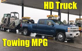 Heavy Duty Pickup Truck Towing Fuel Economy Numbers You Can't Get ...