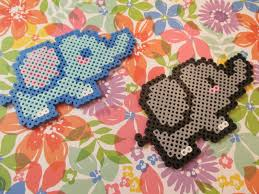 Halloween Hama Bead Patterns by Perler Bead Kawaii Elephant Tutorial Kawaii Series Episode 18