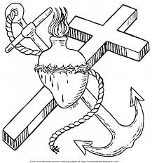 Color The Bible Anchors