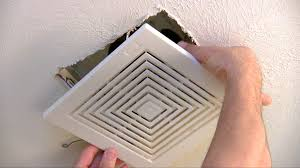 Nutone Bathroom Exhaust Fan Manual by How To Replace Or Repair A Bathroom Fan Youtube