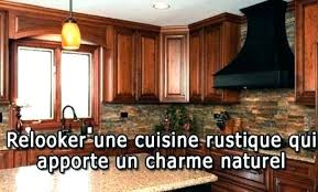 Relooking De Cuisine Rustique De Refaire Sa Cuisine Rustique En Moderne Coffeedential Co