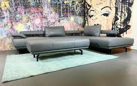 echt leder sofa l form designer sofa sofort lieferbar neu
