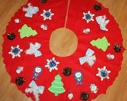 Ugly Tacky Christmas Sweater Tree Skirt Size S M Deb Rottums Penguin