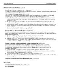 Resume For Call Center Sample Telemarketing Director Examples Create My