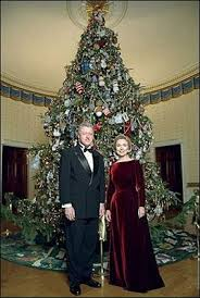 The 1998 Clinton Tree Was Based On Theme A Winter Wonderland
