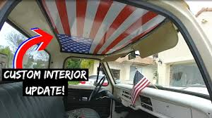 F100 Interior Upgrade! - YouTube 905x60 23x150cm Ceiling Roof Ling Foam Backing Upholstery New Headliner Ford Truck Enthusiasts Forums Redneck Vin Of Truck With Light Grey Pewter Sunvisor Plastic Would Anybody Happen To Have A Headliner For Mk1 Rabbit 09 Badly Sagging Honda Ridgeline Owners Club Repair Headlinerrepair Rewrapped The American Flag Remove Trim Fixing My Mistake Rangerforums The Ultimate 1208lrmp13o1963cvrolettruckcustomheadliner Lowrider