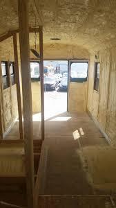 Skoolie Conversion Floor Plan by Spray Foam Insulation Bus Conversion Denver Colorado Charles